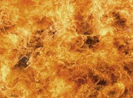 feu brûlant