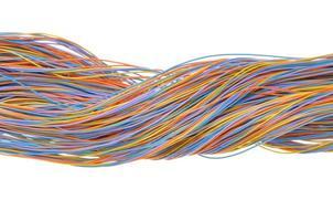 connexions réseau informatique photo