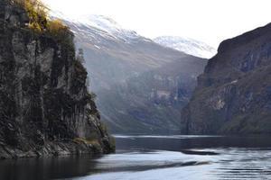 le fjord de geiranger photo