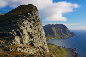 falaises côtières photo