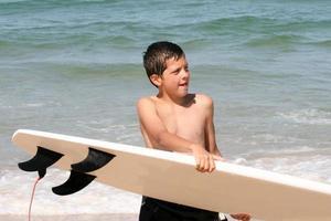 surfeur de garçon