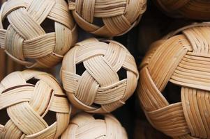 """boule de rotin pour """"sepak takraw"""" photo"""