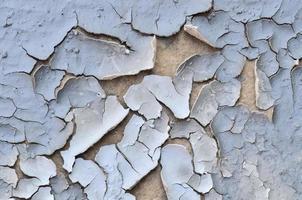fond de terre fissurée photo