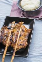 poulet grillé asiatique
