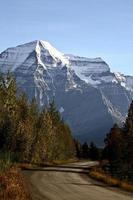 Mount robson dans la belle colombie britannique photo
