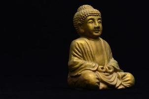 petite image de Bouddha doré photo