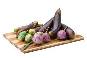 aubergine asiatique assortie photo