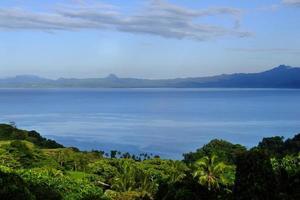 Savusavu Bay, île de Vanua Levu, Fidji photo