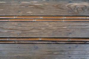 fond de panneau en bois japonais photo