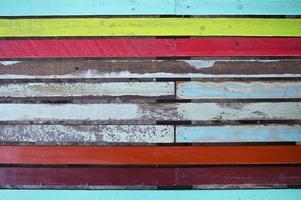 panneau en bois de grunge. photo