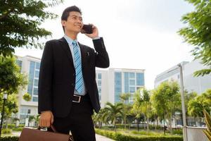 gestionnaire asiatique photo