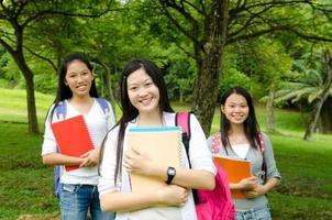 étudiants asiatiques photo