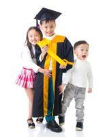 enfants asiatiques photo