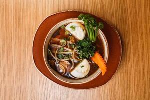 soupe asiatique photo