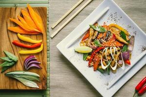 cuisine asiatique photo