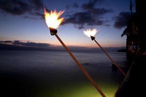 torches tiki photo