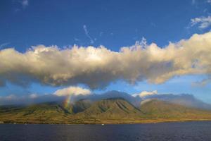 arc-en-ciel hawaïen photo