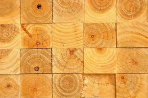 empilement de bois photo