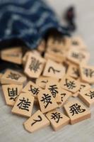 morceau de shogi photo