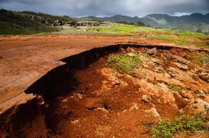 sol rouge hawaïen photo