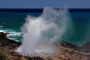 la corne de spounting photo