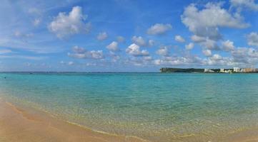 plage de l'île tropicale photo