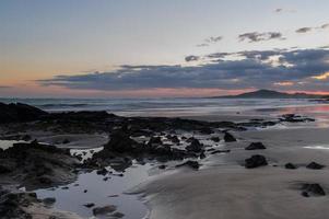 galapagos. plage de l'île isabella.