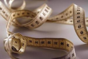 cinta metrica de costura photo