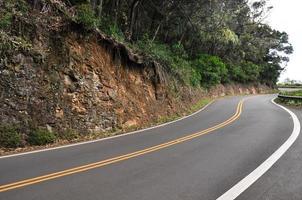 route vers hana, maui (usa) photo