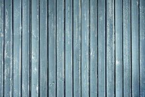 fond de planches de bois bleu photo