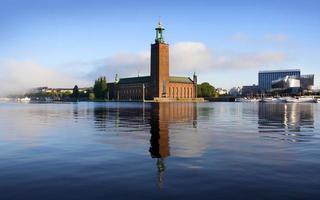 l'hôtel de ville, stockholm