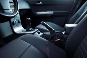 intérieur de voiture moderne