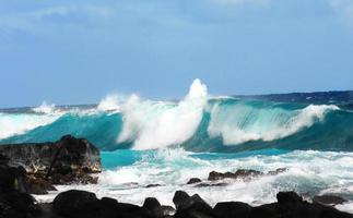 grosse vague au parc d'état de mackenzie photo