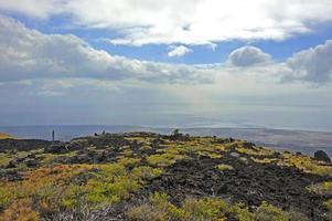 parc volcanique, grande île, hawaï
