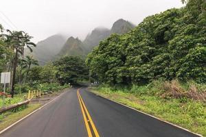 Parc d'État de iao valley sur maui hawaii photo