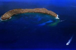 cratère molokini photo