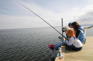 pêche en famille photo