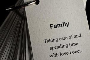 définition de la famille photo