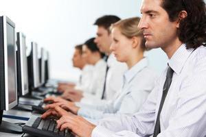 travailleurs en ligne photo