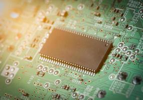 circuit électronique pour motif et arrière-plan.
