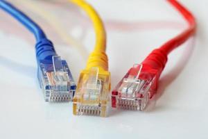 câbles réseau photo