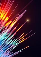 câbles à fibres optiques photo