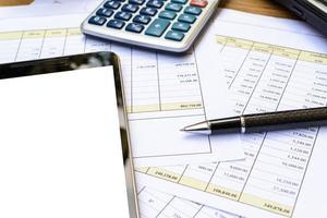 bureau bureau entreprise financier comptabilité calculer photo