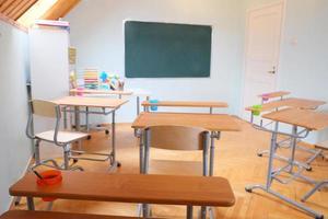 intérieur de la classe