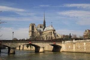 Cathédrale Notre-Dame de Paris. photo