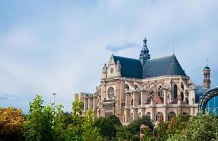 église saint eustache à paris. photo