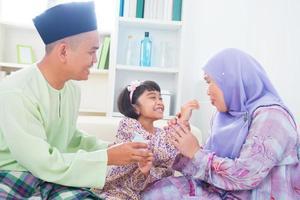 famille musulmane photo