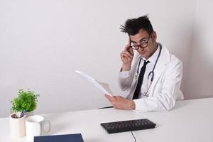 consultation d'un médecin photo