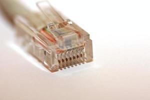 câble réseau lan photo