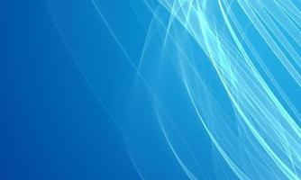 abstrait de lignes bleues photo